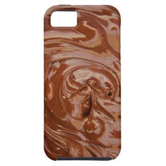 Fondo del chocolate iPhone 5 Case-Mate cárcasa