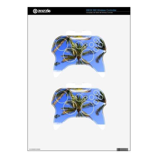 Fondo del cielo de las palmeras de Cocoanut Mando Xbox 360 Skins