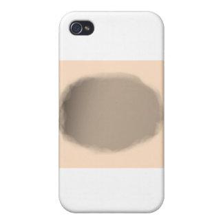 Fondo del círculo de la carne iPhone 4 cárcasas