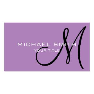 Fondo del color de la violeta africana del tarjetas de visita