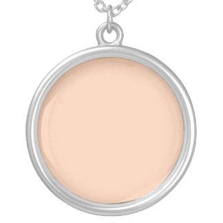 Fondo del color del albaricoque joyerias personalizadas