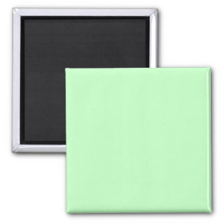 Fondo del color en colores pastel del verde azul imán cuadrado