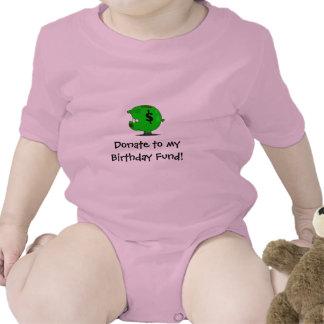 ¡Fondo del cumpleaños! Camiseta
