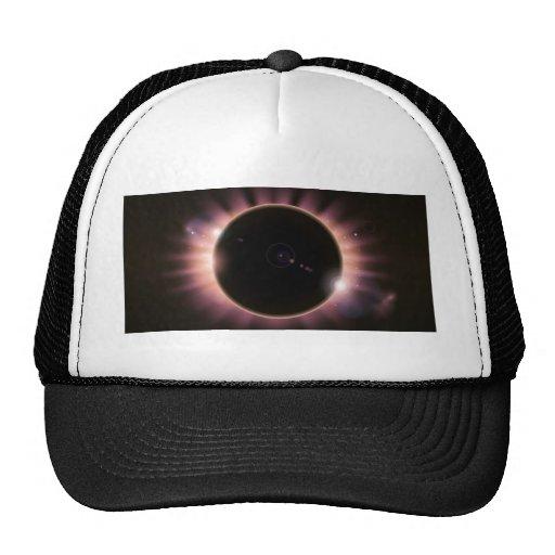 Fondo del eclipse gorro