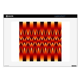 Fondo del extracto de la ilusión óptica portátil 38,1cm skins