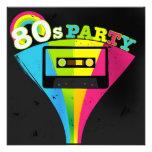 fondo del fiesta 80s anuncios