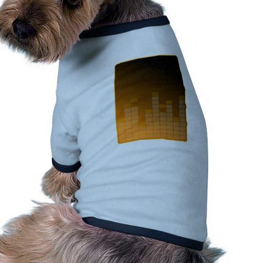 Fondo del fiesta camiseta de perrito