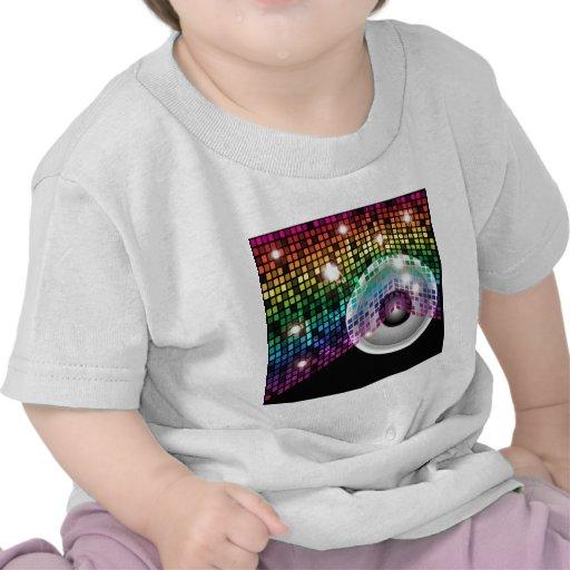 Fondo del fiesta camisetas