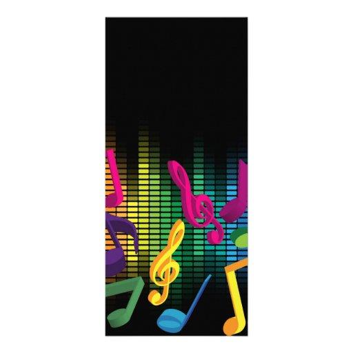 Fondo del fiesta de la música plantillas de lonas
