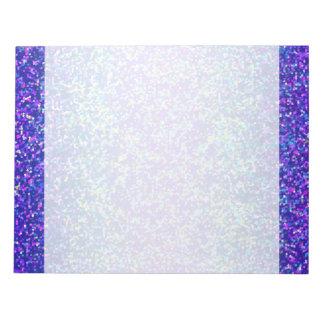 Fondo del gráfico del brillo de la libreta bloc de papel