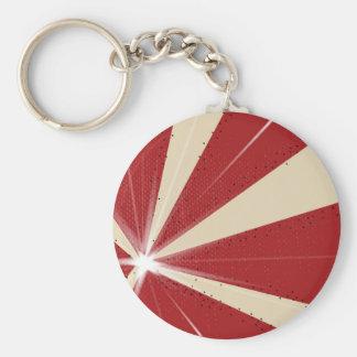 Fondo del Grunge del rayo Llavero Redondo Tipo Pin
