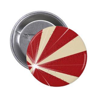 Fondo del Grunge del rayo Pin Redondo De 2 Pulgadas