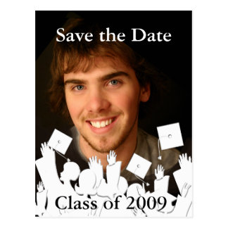 Fondo del Invitación-Cambio de la graduación/color Postales