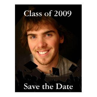 Fondo del Invitación-Cambio de la graduación/color Tarjeta Postal