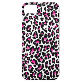 Fondo del leopardo spots/DIY de PixDezines iPhone 5 Funda