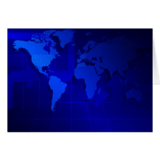 Fondo del mapa del mundo tarjeton