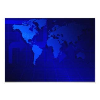 Fondo del mapa del mundo