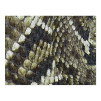 Fondo del modelo de la impresión de la serpiente postal