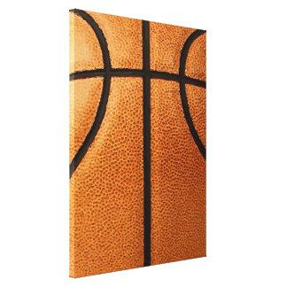 Fondo del modelo de la impresión del baloncesto impresiones de lienzo