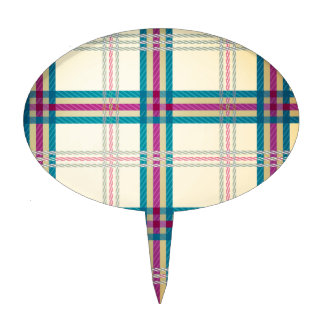 Fondo del modelo de la tela escocesa de tartán decoraciones de tartas