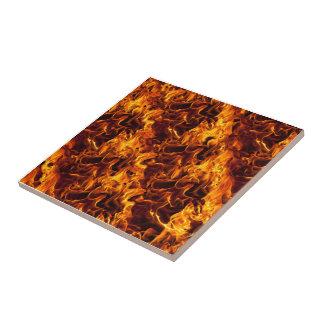 Fondo del modelo del fuego/de la llama teja