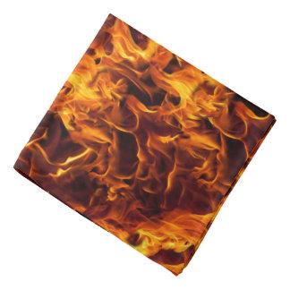 Fondo del modelo del fuego/de la llama bandanas