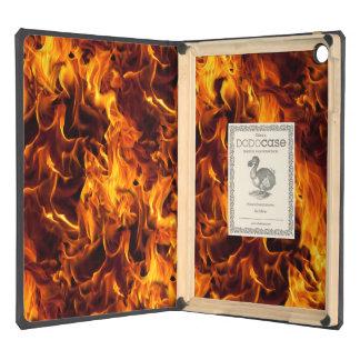Fondo del modelo del fuego de la llama