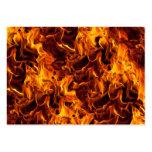 Fondo del modelo del fuego/de la llama plantillas de tarjeta de negocio