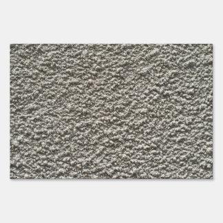 Fondo del muro de cemento cartel