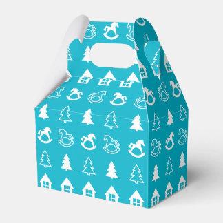 Fondo del navidad caja para regalos