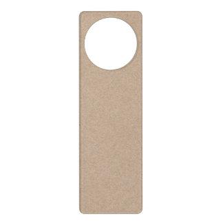 Fondo del papel de Brown Kraft impreso Colgador Para Puerta