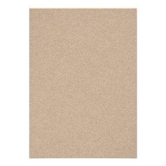 Fondo del papel de Brown Kraft impreso Comunicado