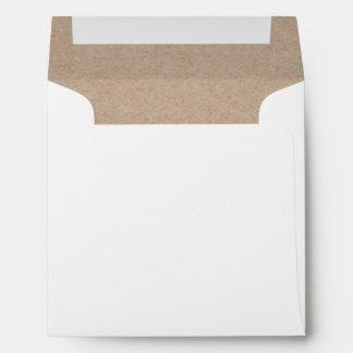 Fondo del papel de Brown Kraft impreso Sobres