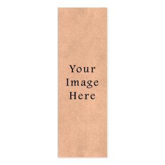 Fondo del papel de pergamino del rosa del ante del tarjetas de visita mini