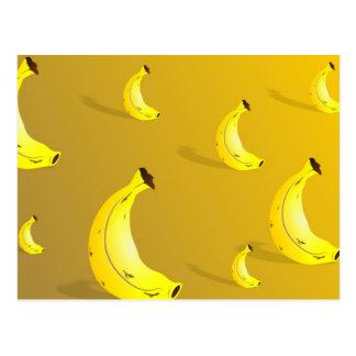 Fondo del plátano postales