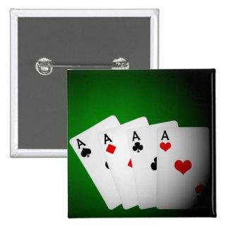 Fondo del póker pin