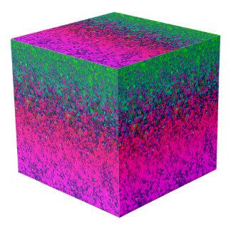 Fondo del polvo del brillo del cubo de la foto