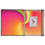 Fondo del remolino del arco iris iPad fundas