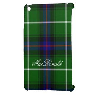 Fondo del tartán de MacDonald en Ipad brillante mi iPad Mini Cárcasa