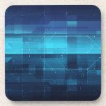 Fondo digital de alta tecnología posavaso