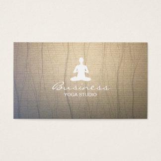 Fondo elegante del zen de la yoga y de la tarjetas de visita