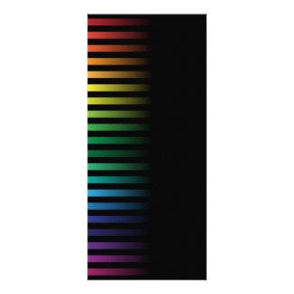 Fondo espectral tarjeta publicitaria