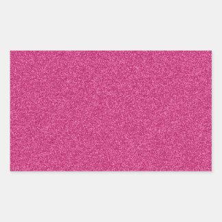 Fondo femenino hermoso del efecto del brillo de pegatina rectangular