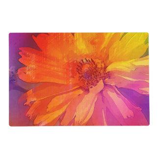 Fondo floral del arco iris del vintage del arte