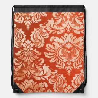 Fondo floral del papel pintado del vintage mochilas