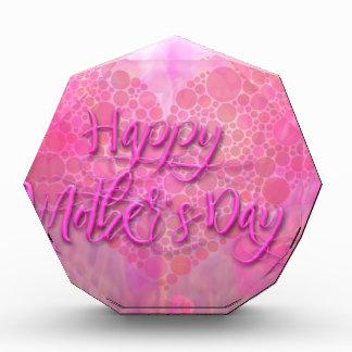 Fondo floral feliz del día de madres