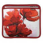 Fondo floral pintado extracto 2 funda para iPads