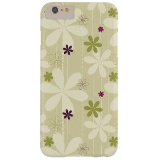 Fondo floral retro funda barely there iPhone 6 plus