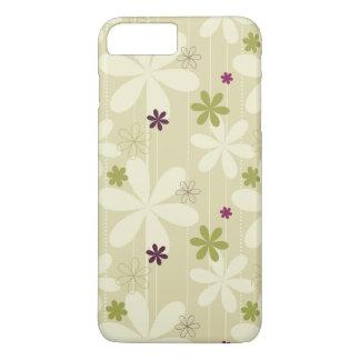 Fondo floral retro funda iPhone 7 plus