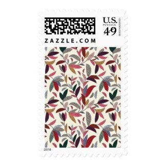 Fondo floral sello